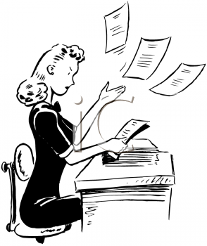 Clerical Clipart.