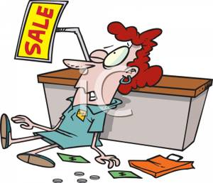 Clerk Clip Art.