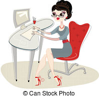 Clerical Illustrations and Clipart. 555 Clerical royalty free.