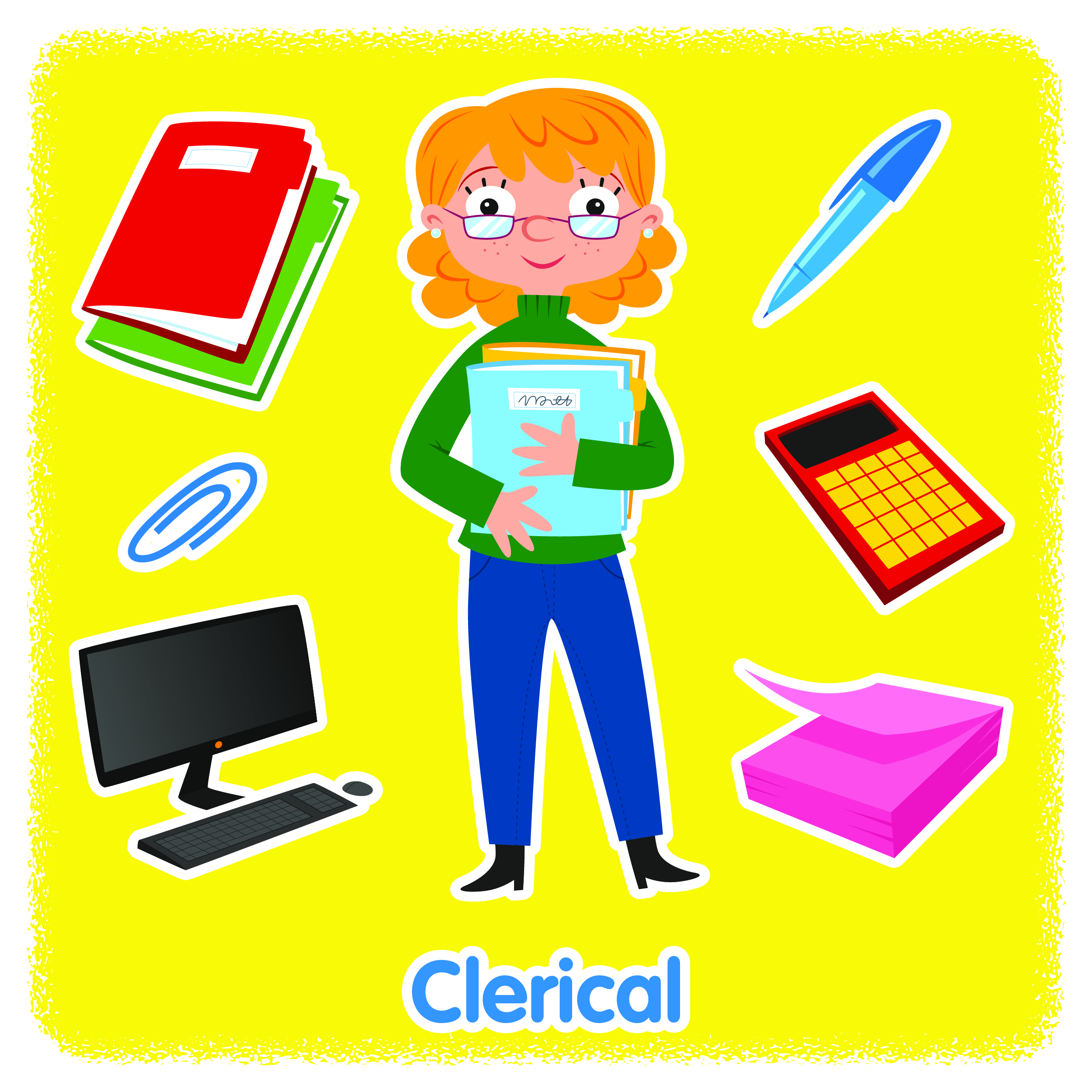 clerical clipart clipground