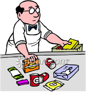 Shipping Clerk Clipart.