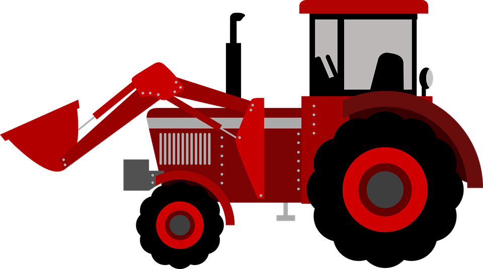 Free vector graphic: Tractor, Farm, Kid, Agriculture.