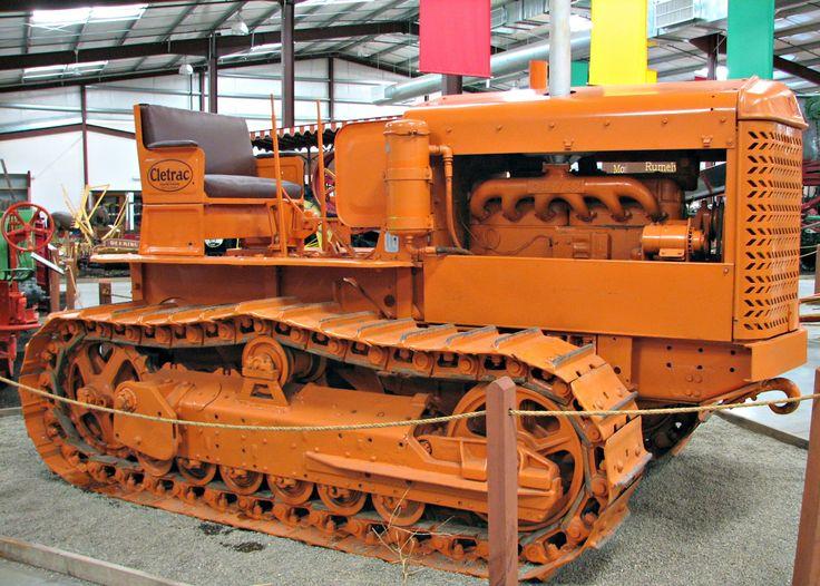 1000+ images about ☮ Bullock, Cletrac, Cockshutt Tractors.