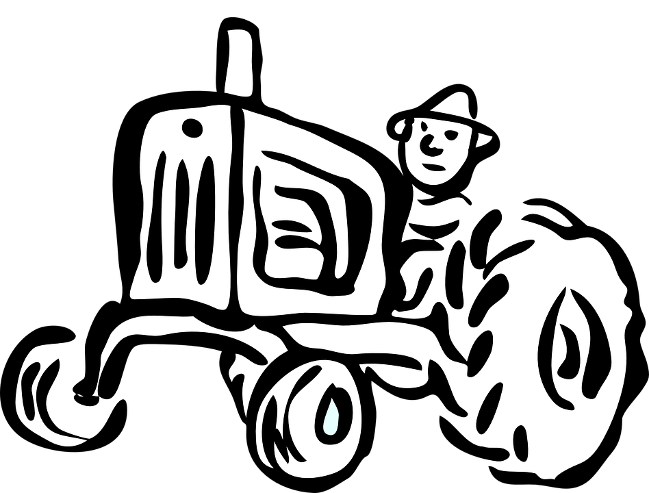 Free vector graphic: Tractor, Agriculture, Engine, Car.