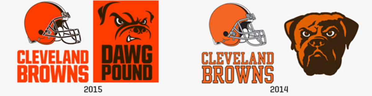 Cleveland Browns new logo unveiled.