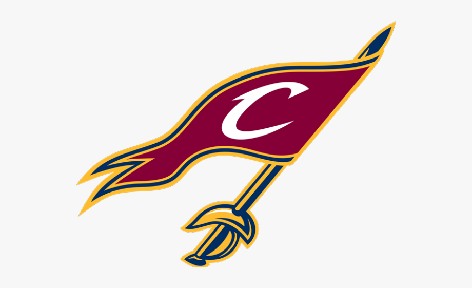 Cleveland Cavaliers Flag Logo , Transparent Cartoon, Free.