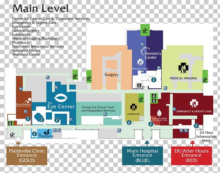 Cleveland Clinic Hospital Health Care Map.