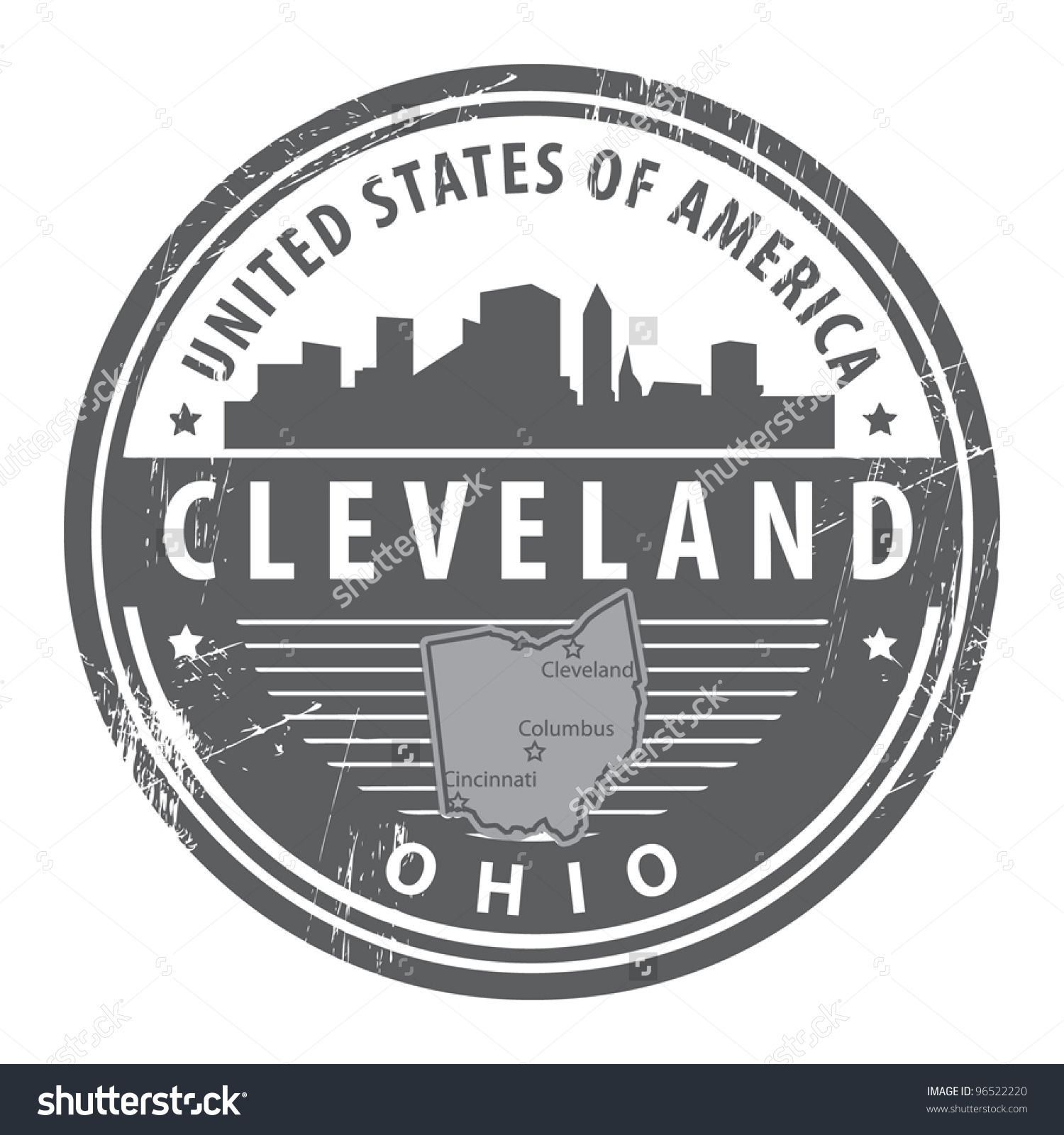 Cleveland ohio clipart.