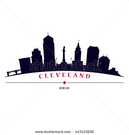 Plane to cleveland clipart.