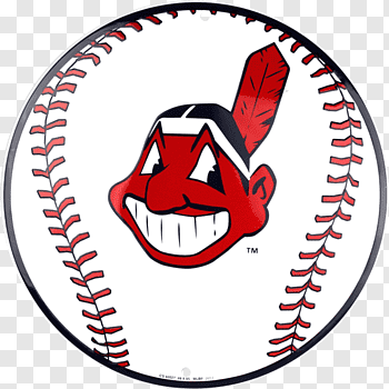 Man\'s face logo, Cleveland Indians Indian free png.