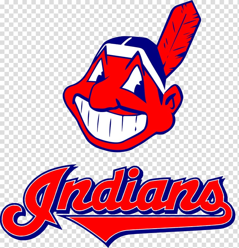 Cleveland Indians logo, Yankee Stadium Cleveland Indians New York.