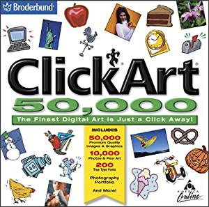 Amazon.com: ClickArt 50, 000 (Jewel Case).
