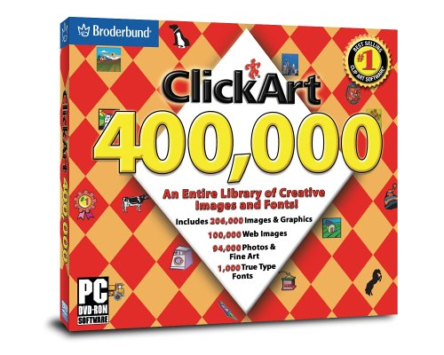 Click Art 400,000 DVD.