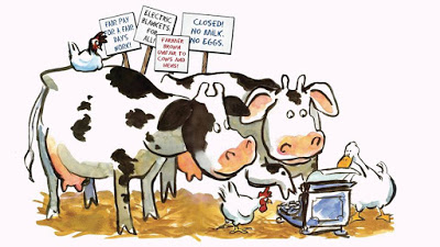 Stories ~ Books ~ Adventures: Click, Clack, Moo: Cows that Type.