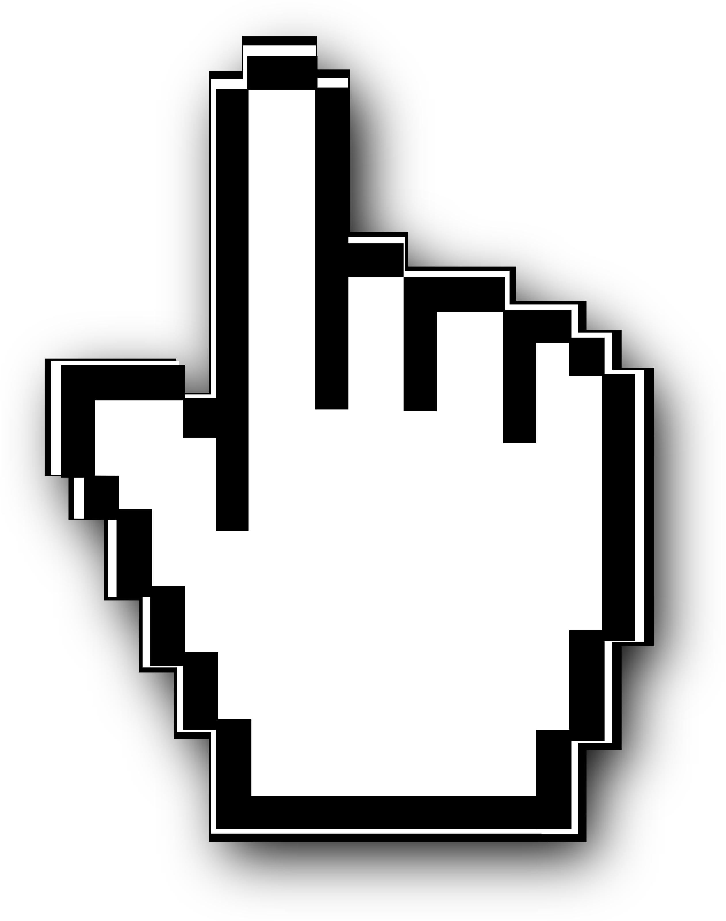 Mouse click clip art.