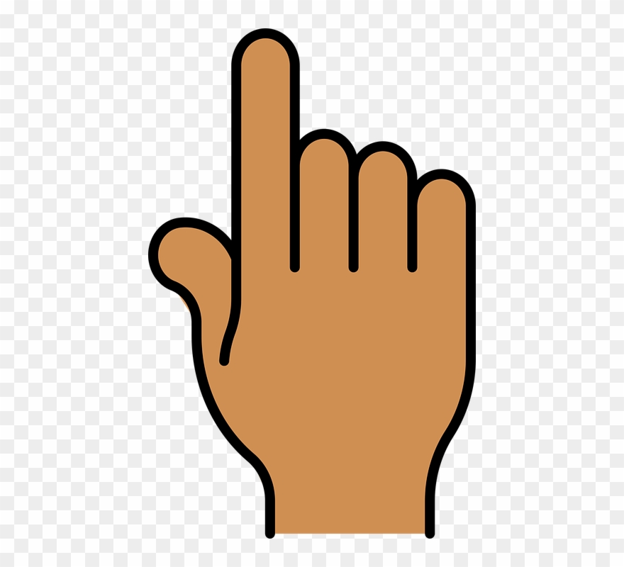 Finger Clipart Clicking.