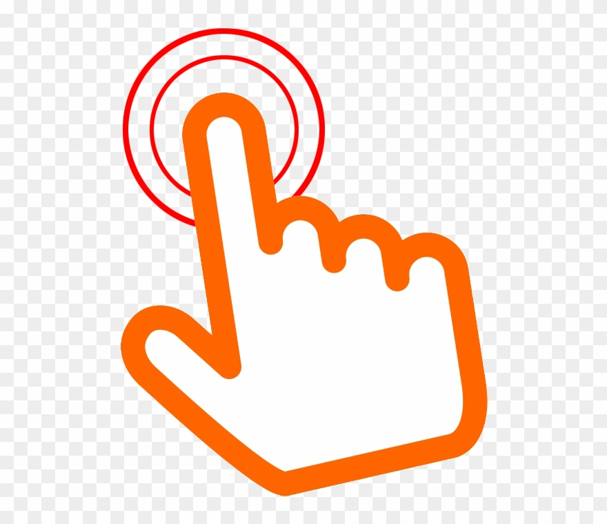 Here Clipart Hand Pointer.