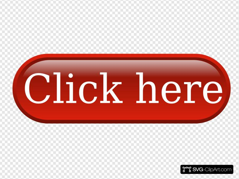 Click Here Button Red Clip art, Icon and SVG.