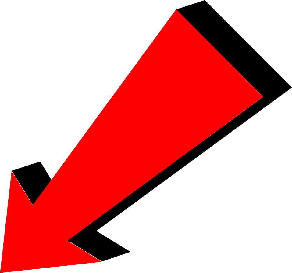 Clickbait Arrow Png Red Arrow Png.