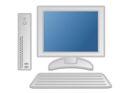 Client Computer Clipart.