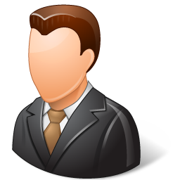 Office Client Male Light Icon.