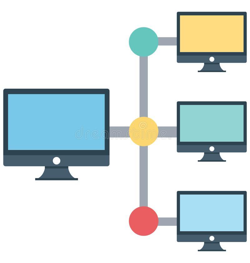 Client Server Stock Illustrations.