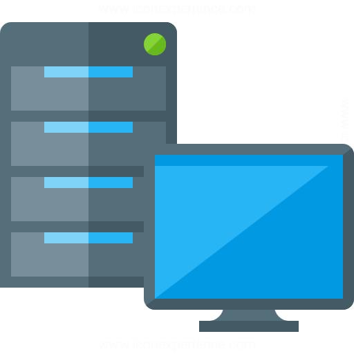 Server Computer Clipart.