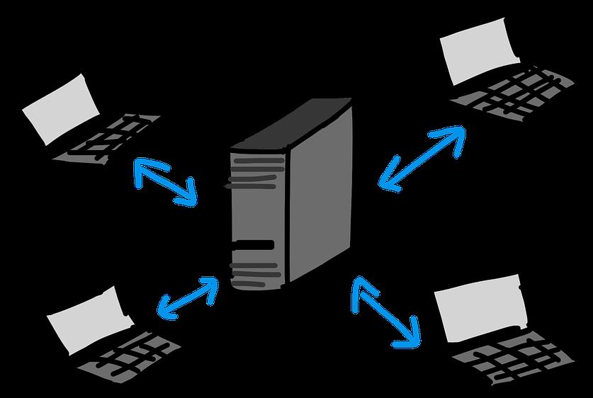 HD Client Server Networking Laptop.