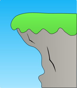 Cliff Clipart.