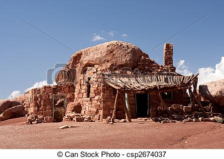Picture of Native American cliff dwellings in Cliff Dwellers.