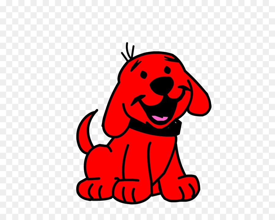 Clifford The Big Red Dog Puppy Clip Art #520303.