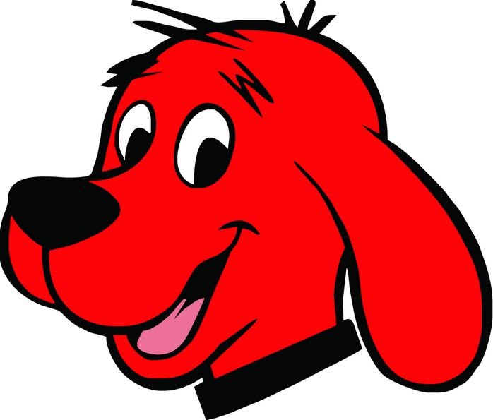 Free Clifford The Big Red Dog, Download Free Clip Art, Free Clip Art.