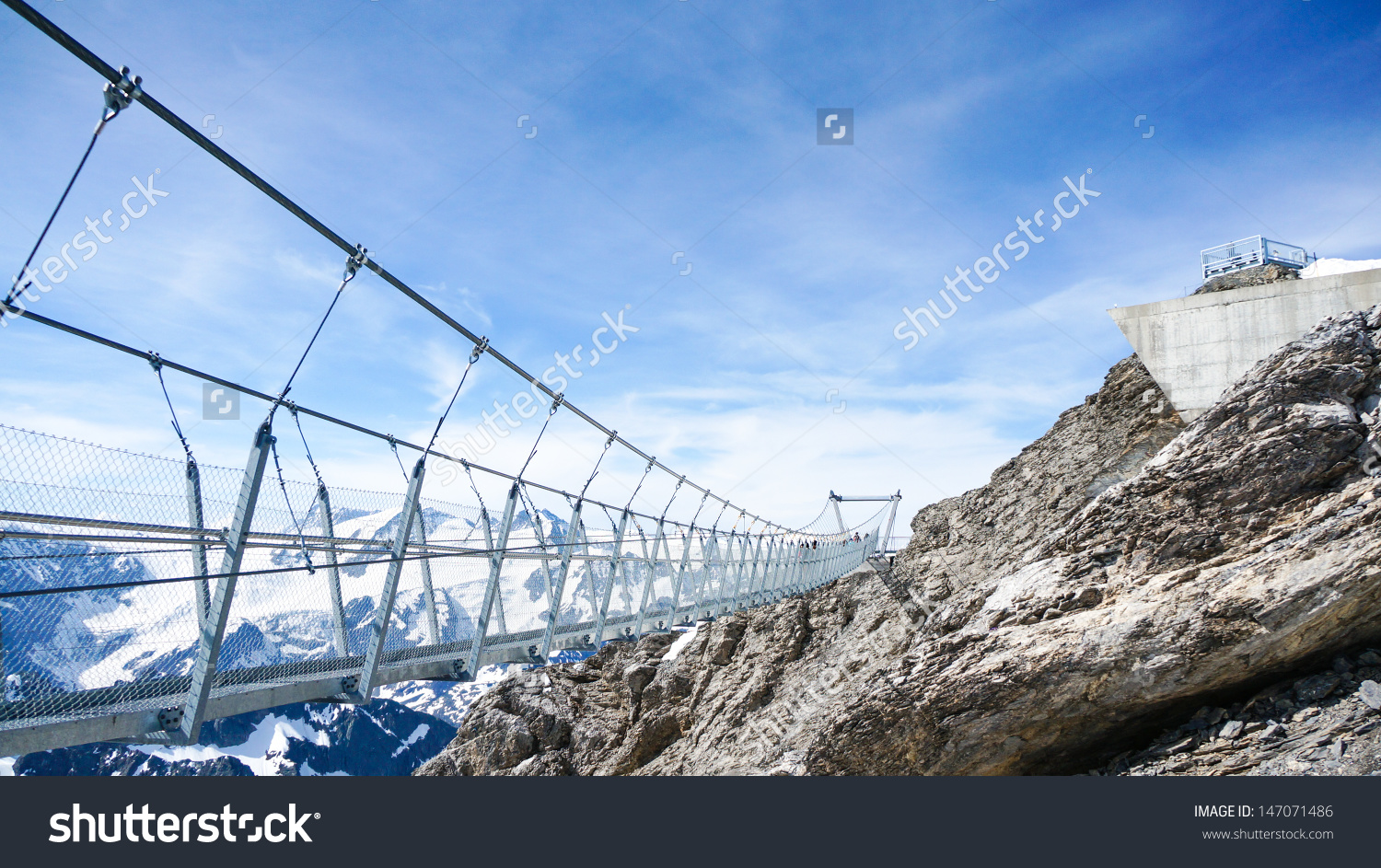 Titlis Cliff Walk Stock Photo 147071486.