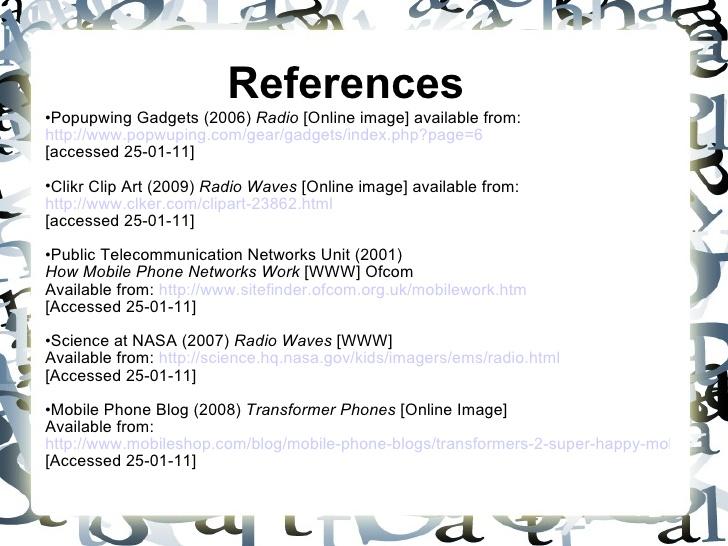 Radio Communication.
