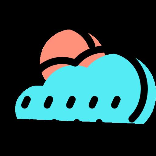 ícone Chuva, sol, clima Livre de Weather assets icons.