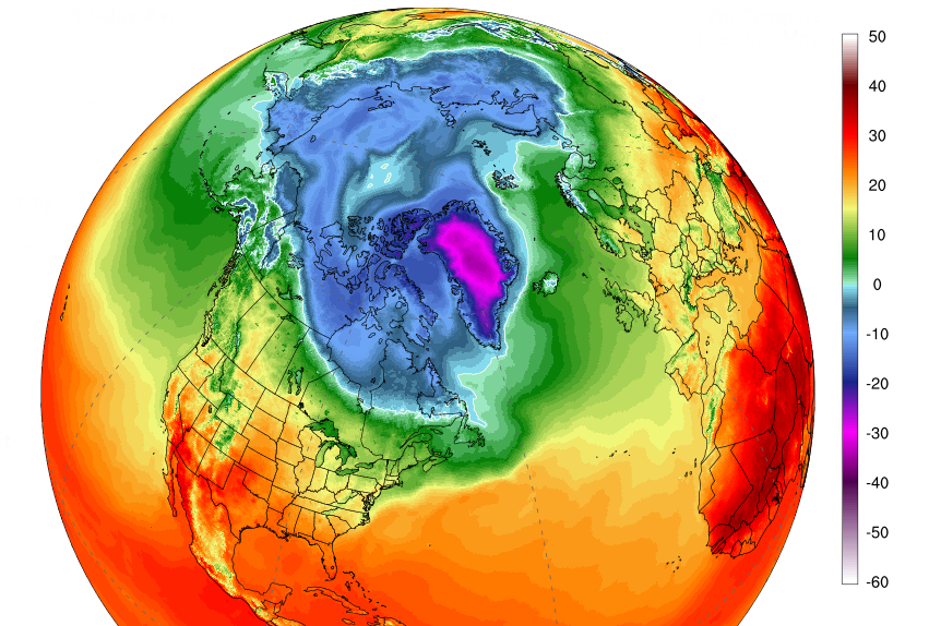 Arctic Heat Surges Again, and Studies Are Finding Climate Change.