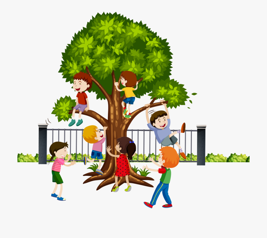 Tree Climber Clipart.