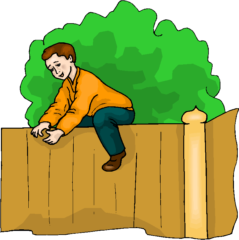 Boy Climb The Fence Free Clipart Free Microsoft Clipart #19e2vD.