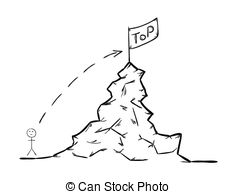 Climb to the summit Clipart Vector Graphics. 26 Climb to the.