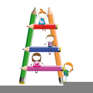 Climbing The Ladder Of Success Clipart.