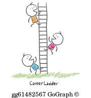 Climbing The Ladder Clip Art.