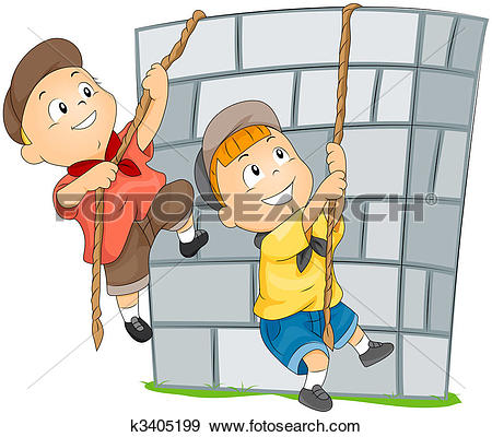 Climbing Illustrations and Clipart. 9,293 climbing royalty free.