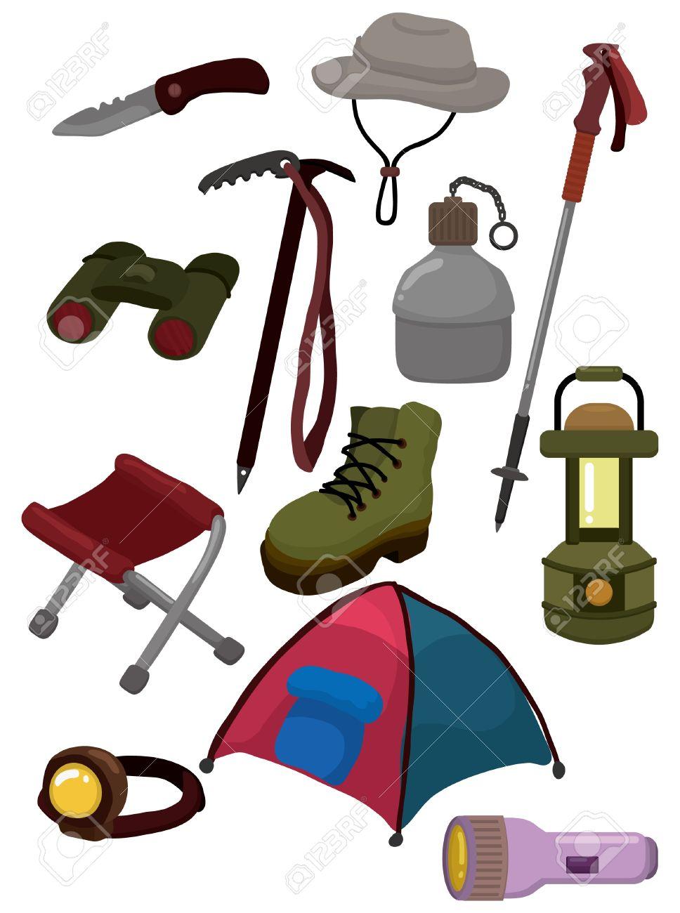 Cartoon Climb Equipment Icon Royalty Free Cliparts, Vectors, And.