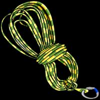 Rope Climbing Equipment Clip Art.