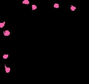 Pink Vine Flowers Clip Art at Clker.com.