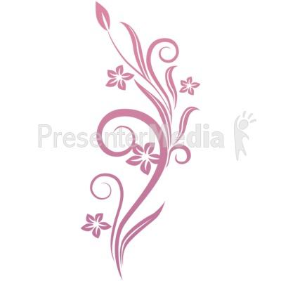 Flower Vines Clipart.