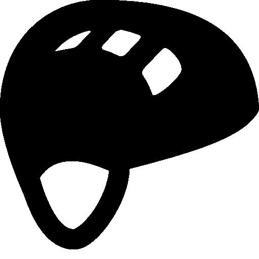 Climbing Helmet Icon.