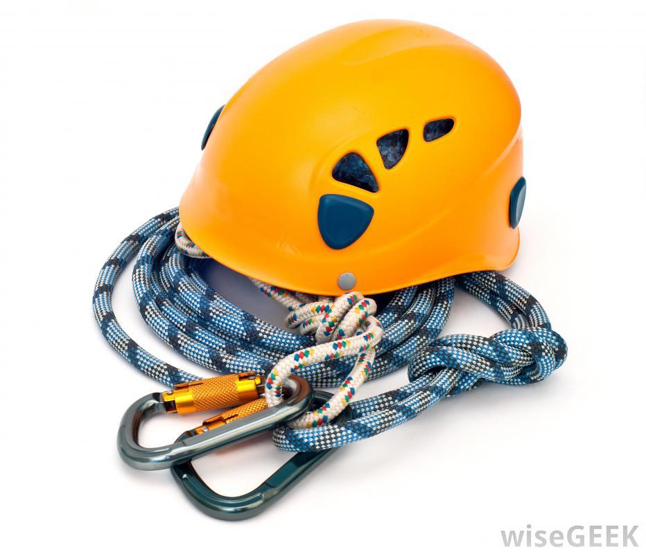 Sport climbing helmets clipart