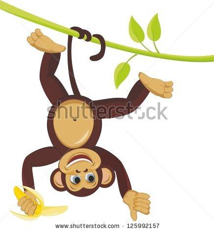 Jungle Monkey Stock Photos, Royalty.