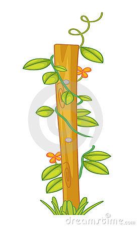 Creeping plants clipart #9